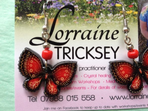 Nature Spirit Butterfly Earrings