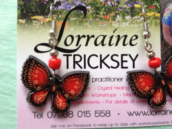 Nature Spirit Butterfly Earrings