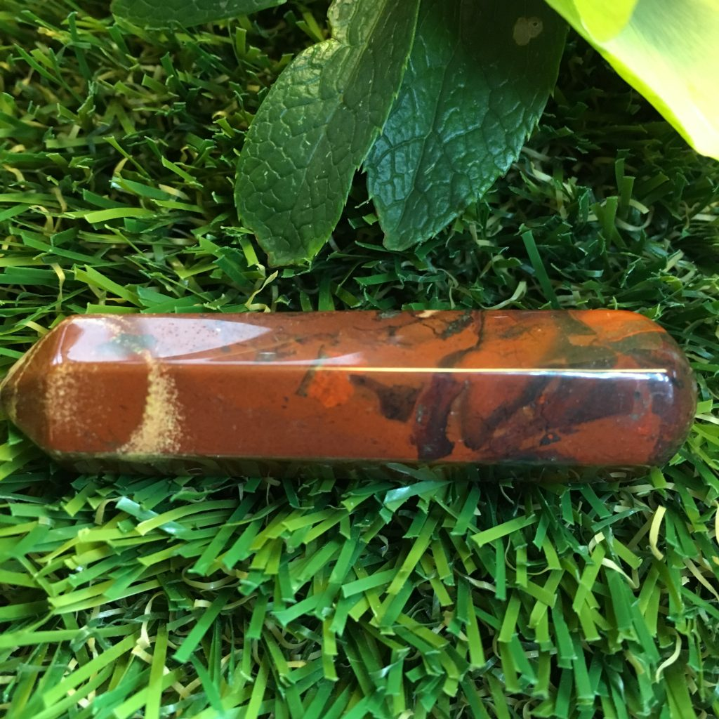 Brecciated Jasper Double Terminated Crystal Point