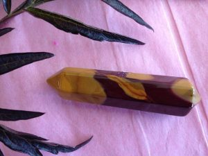 Mookaite Double Terminated Point