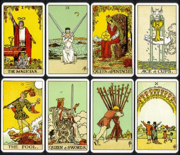 Tarot reading by email