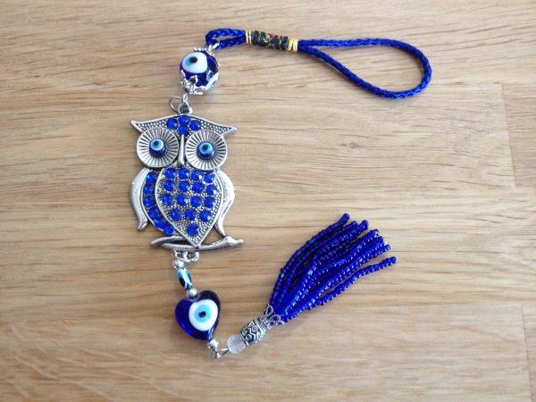 Evil eye owl talisman – protection