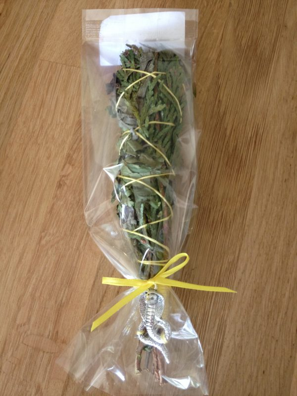 Intuitively Bespoke Handcrafted Herbal Smudge Stick