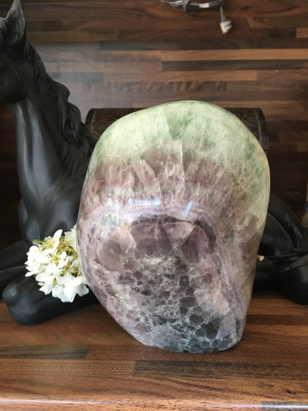Fluorite Crystal Extra Large Display Piece – Mind Crystal, Creativity, New Projects