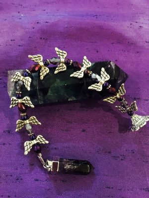 Amethyst Angel Pendulum / Dowser