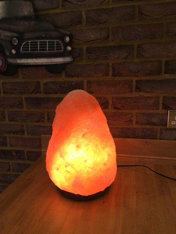 Genuine Natural Himalayan Salt Lamp – 2-3kg – 8kg approx
