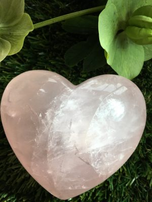 Rose Quartz Extra Large Heart 0.52kg
