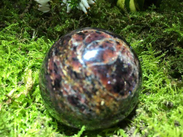Ruby Sphere – deep red