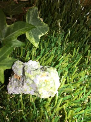 Natural Rough Green Wavelite Crystal Specimen