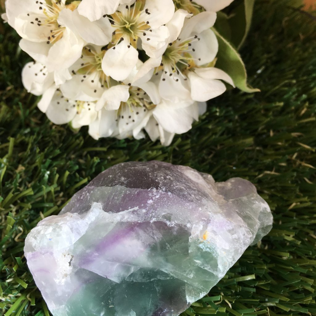Fluorite Rough Natural Crystal