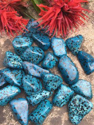 Dalmation Jasper Blue