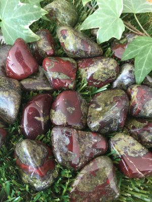 Dragon's Blood Jasper Tumblestone