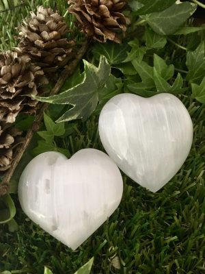 Selenite Heart – 5cms