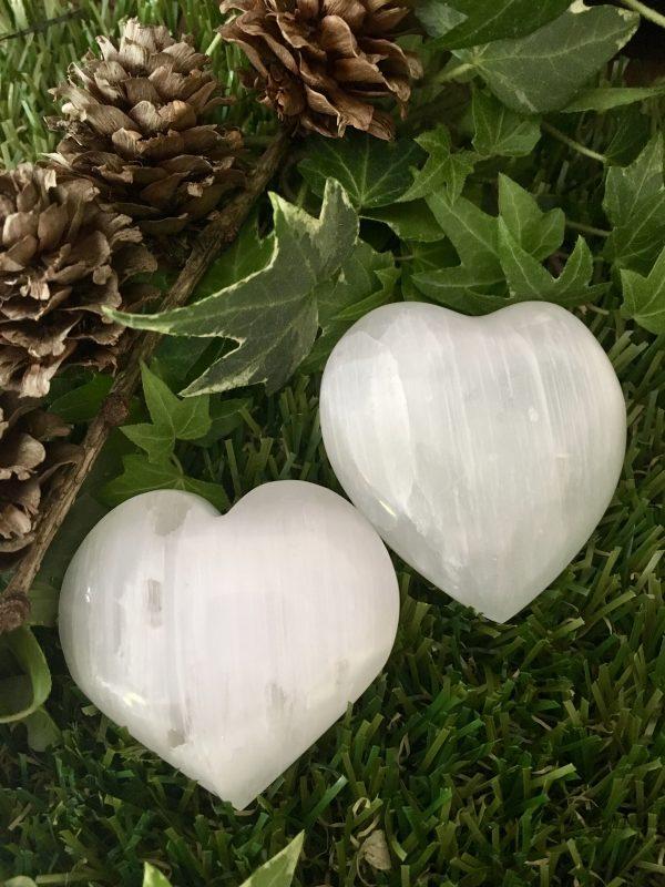 Selenite Heart – 5cms