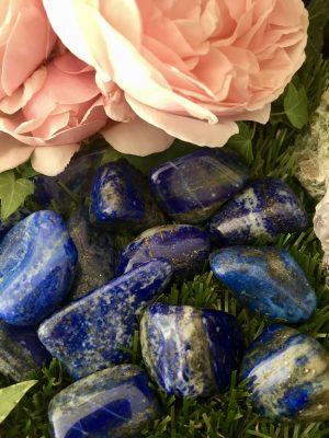 Lapis Lazuli Large Crystal Tumblestone – Intuition, Crystal Healing, Creativity