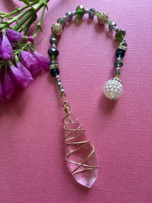 Beaded Pendulum handcrafted Unique