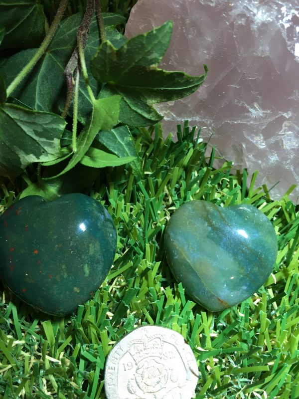 Bloodstone Heart – Healing, Magical, Remove Negativity, Directs / Shifts Spiritual Energy, Revitalises