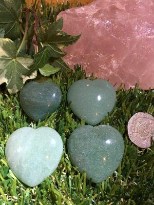 Aventurine Heart – Heart Chakra, Healing, Support, Comfort, Opportunity