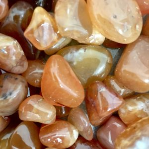 Carnelian Tumblestone – Courage, Abundance, Motivation, Creativity