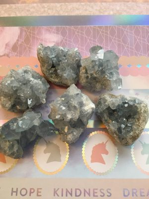 Celestine Crystal Cluster, Druzy, Aura, Angelic Realm, Meditation
