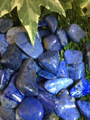 Dumortierite Tumblestone Large – Relaxation, Calm, Harmony, Soothing, Karma, Throat Chakra