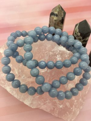 Angelite Crystal Bracelet