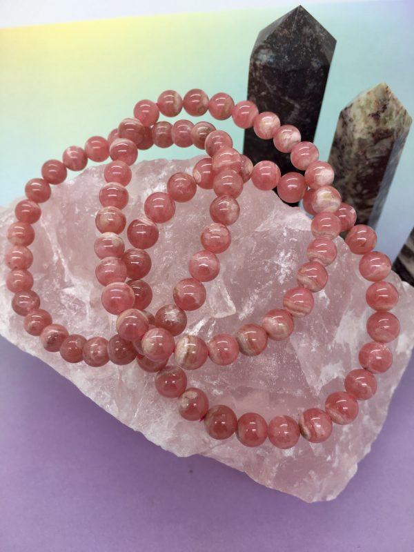 Red Vein Crystal Bracelets