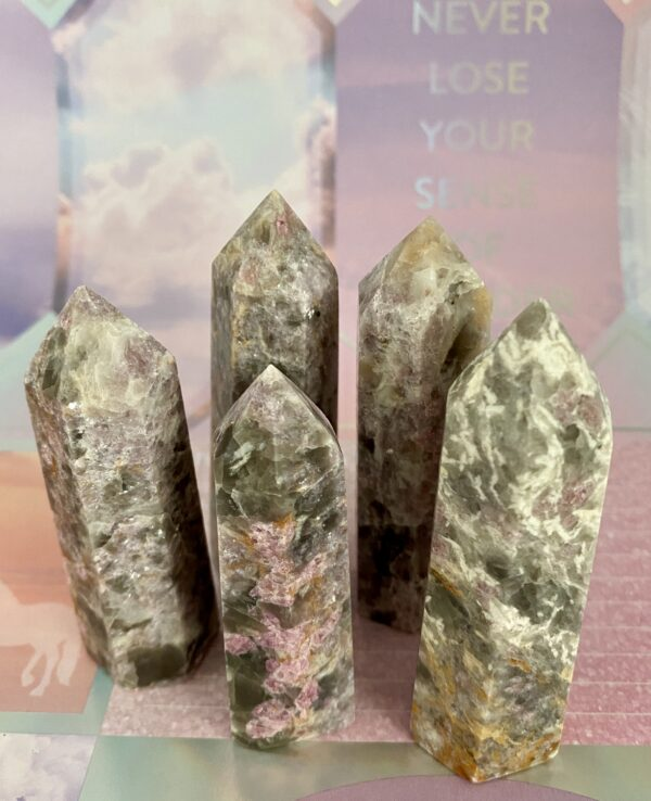 Pink Tourmaline Towers
