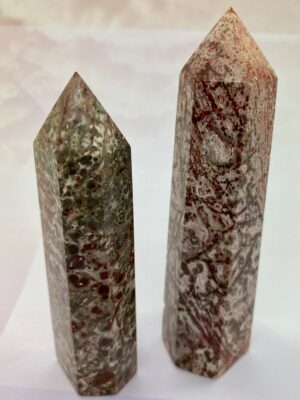 Leopardskin Jasper Towers