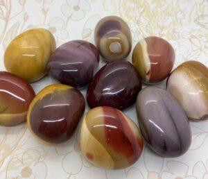 Mookaite Jasper Mini Palm Stones