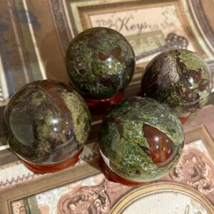 Dragon's Blood Jasper Spheres – great quality