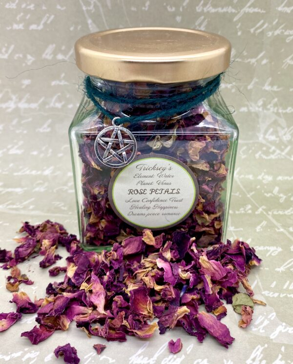 Rose Petals Dried – Apothecary, Dried Herbs