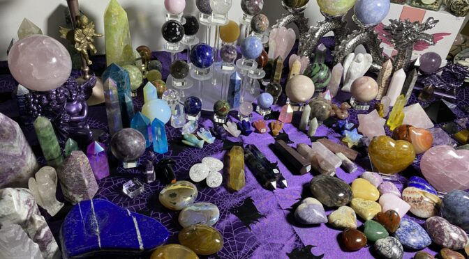 On-Line Live Crystal Sales