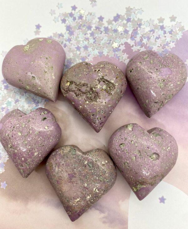 Phosphosiderite Hearts