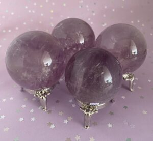 Amethyst Spheres