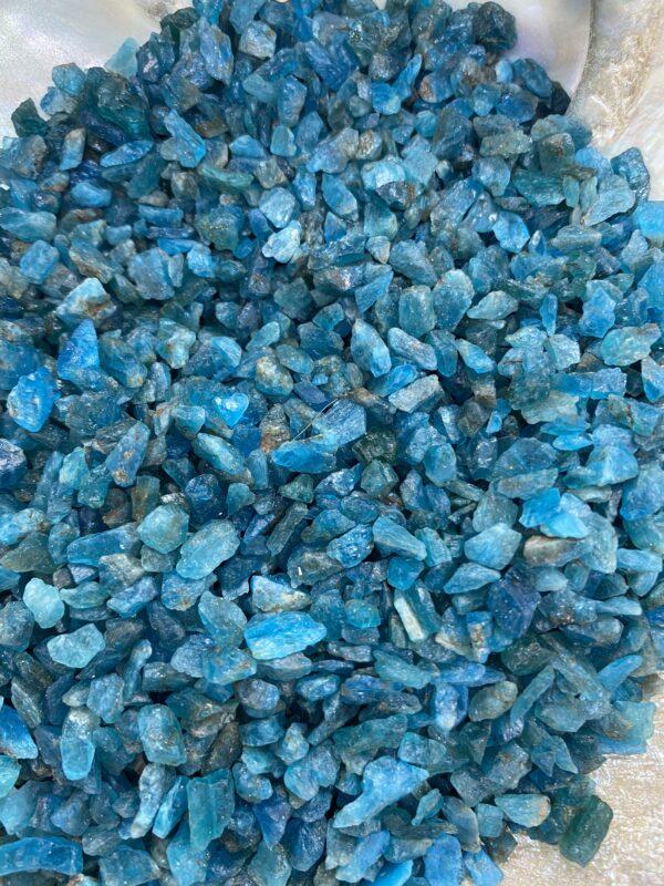 Apatite Blue Chip Crystals