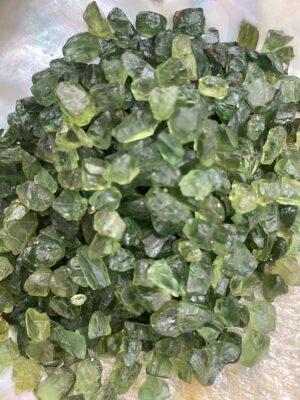 Green Apatite Chip Crystals