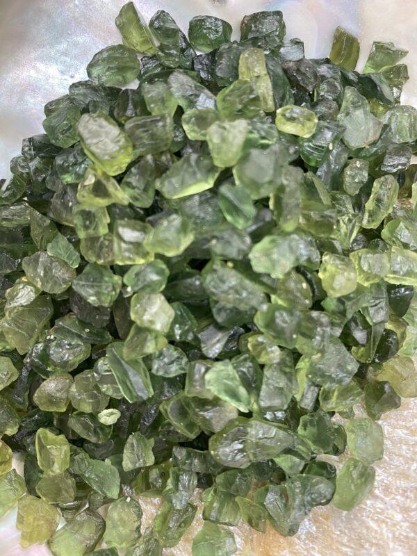 Apatite Green Chip Crystals