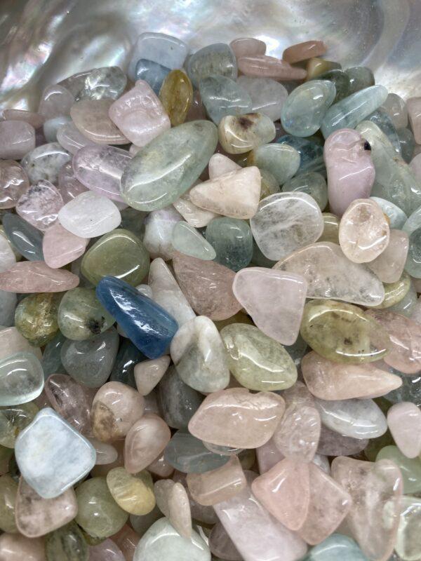 Morganite Chip Crystals