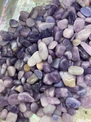 Lepidolite Mica Crystal Chips