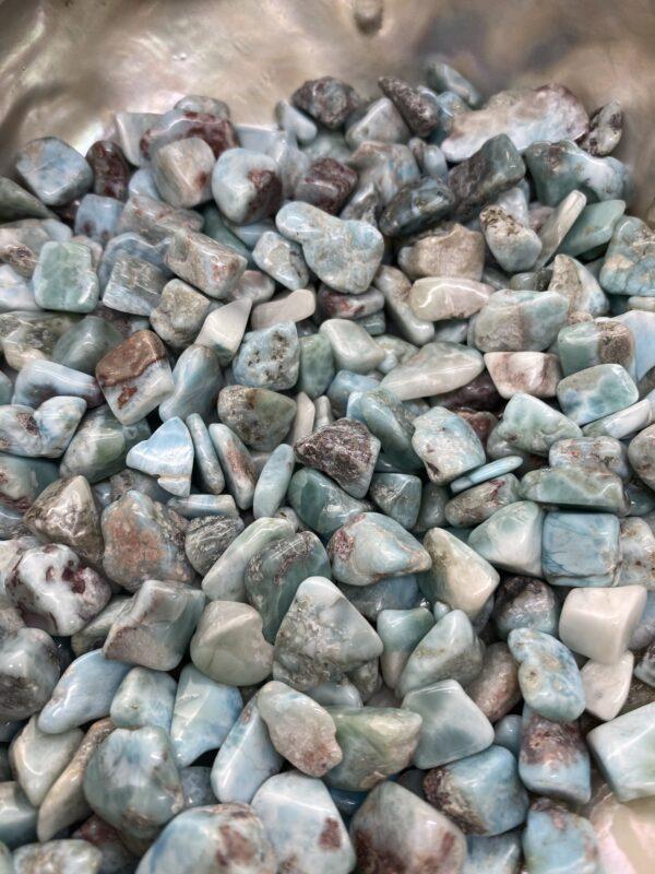 Larimar Crystal Chips