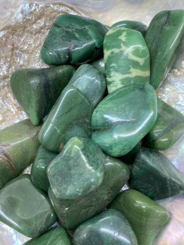 Buddstone Verdite Tumblestones