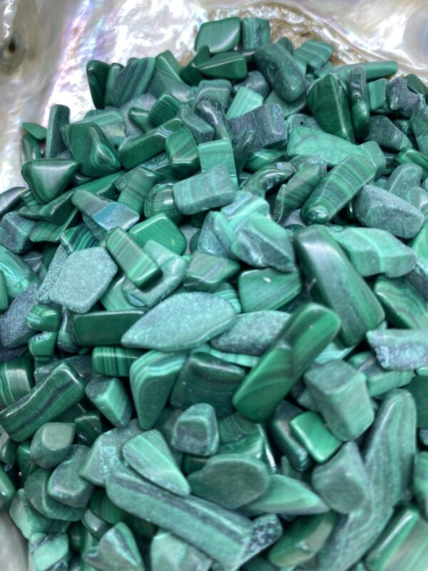 Malachite Chip Crystals